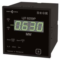 ЦЛ 9259 — преобразователь измерительный цифровой активной мощности трехфазного тока
