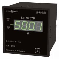 ЦВ 9257 — преобразователь измерительный цифровой напряжения постоянного тока