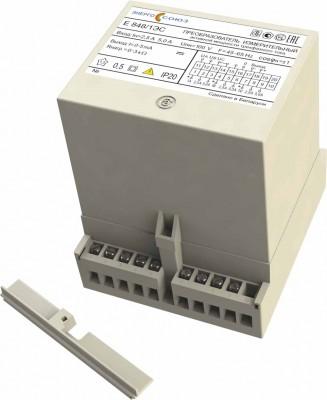 Е 848ЭС — преобразователь измерительный активной мощности трехфазного тока