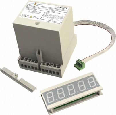 Е 858ЭС-Ц преобразователь измерительный цифровой  частоты переменного тока