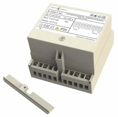 Е 858ЭС — преобразователь измерительный частоты переменного тока