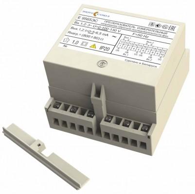 Е 9565ЭС — преобразователь измерительный напряжения обратной последовательности фаз